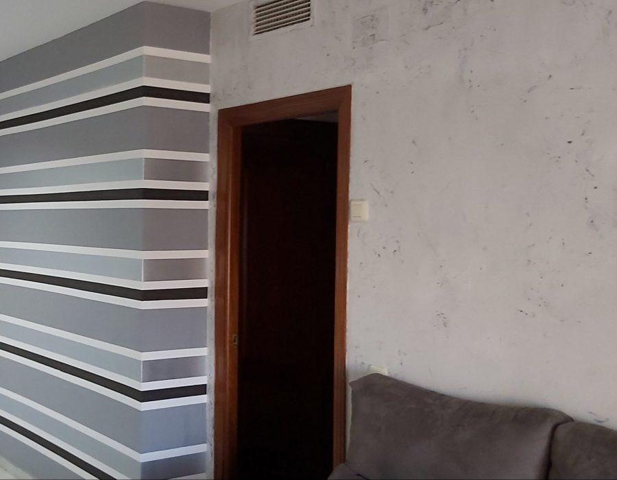 Pintar el interior de tu casa. Papel pintado